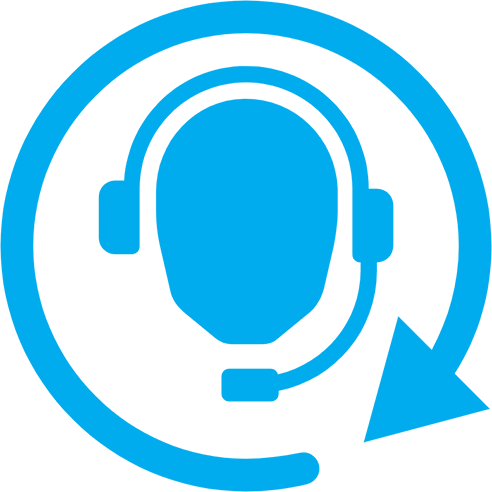 call centers recording logo