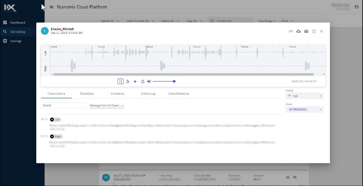 microsoft teams cloud call recording image of ixcloud software